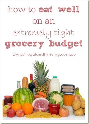 You can eat healthy food on a very tight budget. Here are some tips on how to do it. http://papasteves.com