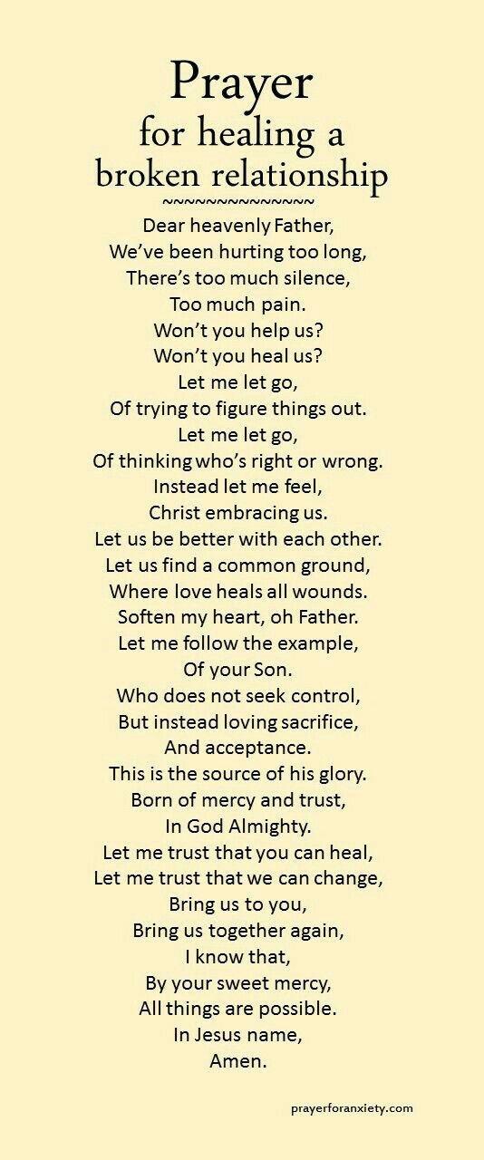Healing a Broken Relationship  (prayersforanxiety.com)
