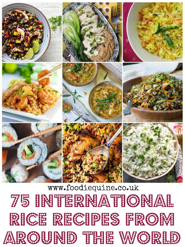 75 International Rice Recipes From Around The World Rice Recipes