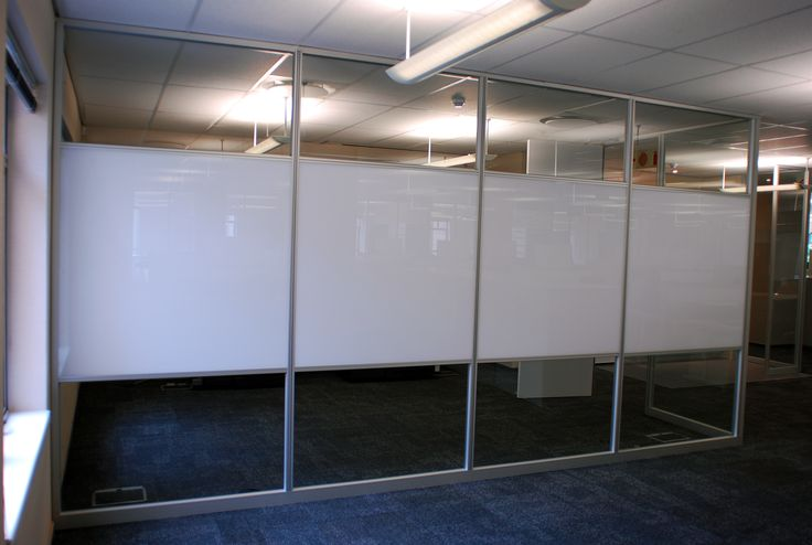 Walling with built in white boards - great for board rooms and meeting room creativity