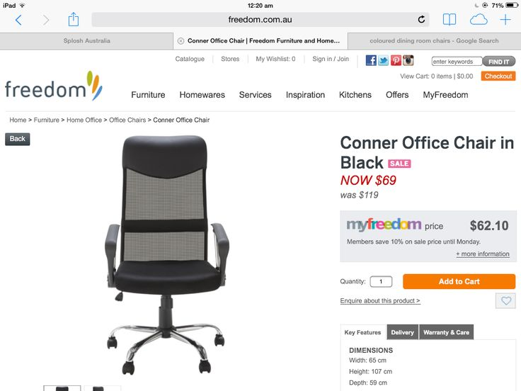 New chair for my office