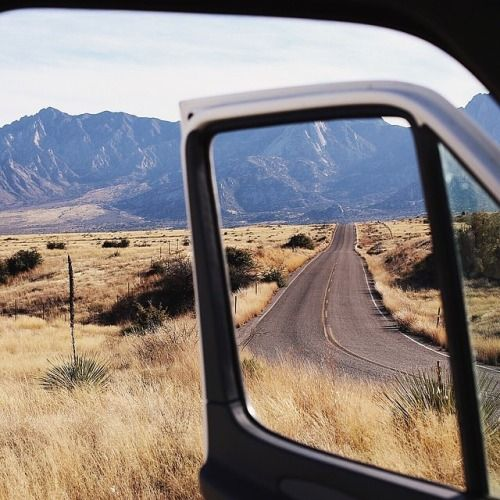 Window with an adventurous view #roadtrip #travel