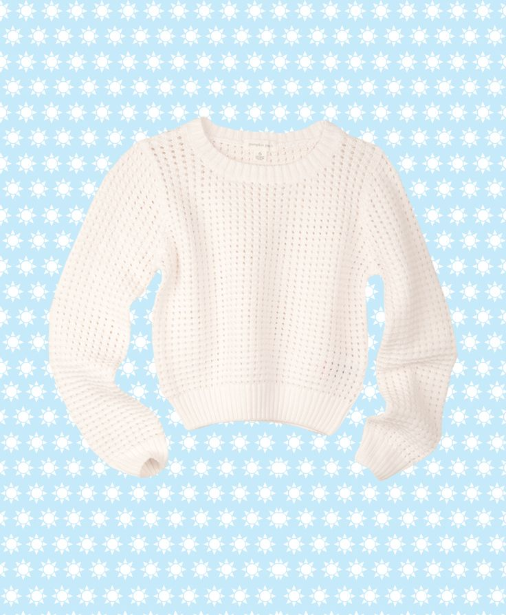 Pumpkin Patch Eyelet Jumper - 100% cotton, available in sizes 5 to 12 years http://www.pumpkinpatchkids.com