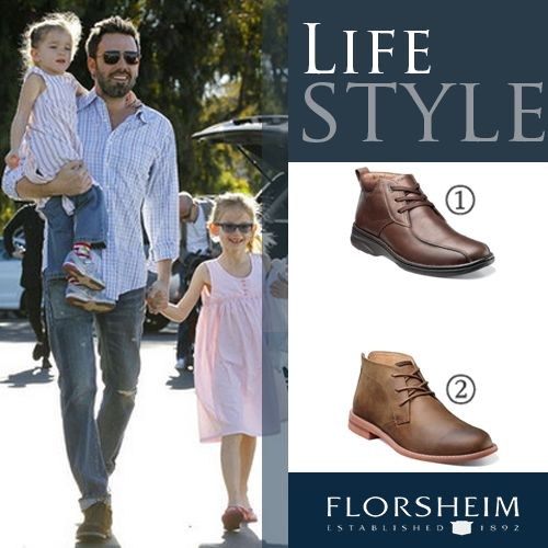 Ben Affleck style with #florsheim #menswear #mensstyle #menstyle #casual #celebrity