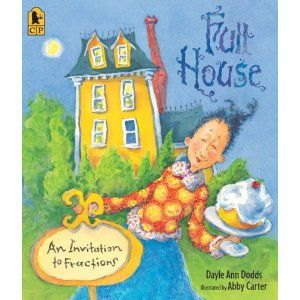Creative Storybook for Children: Full House (An Invitation to Fractions) - LOVE IT! Early introduction to the math concept of fractions!