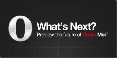 Opera Mini Next 7.5 - Navegador web para Android