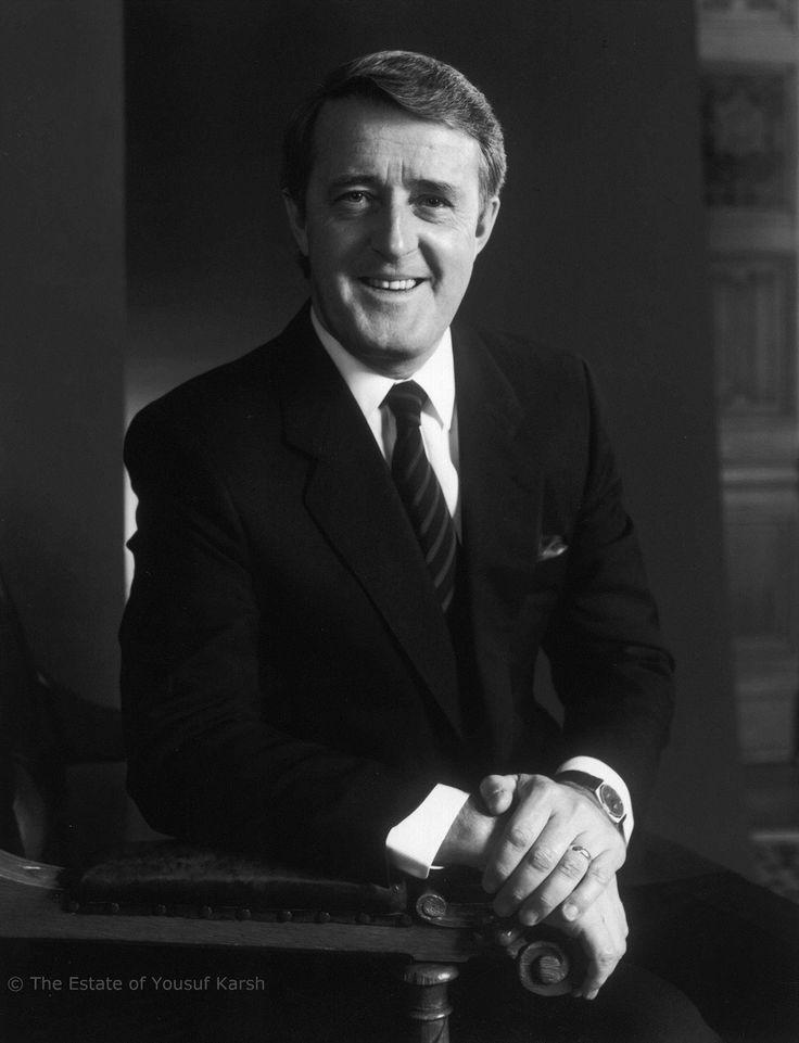 Photograph of Martin Brian Mulroney - Canada's 18th Prime Minister