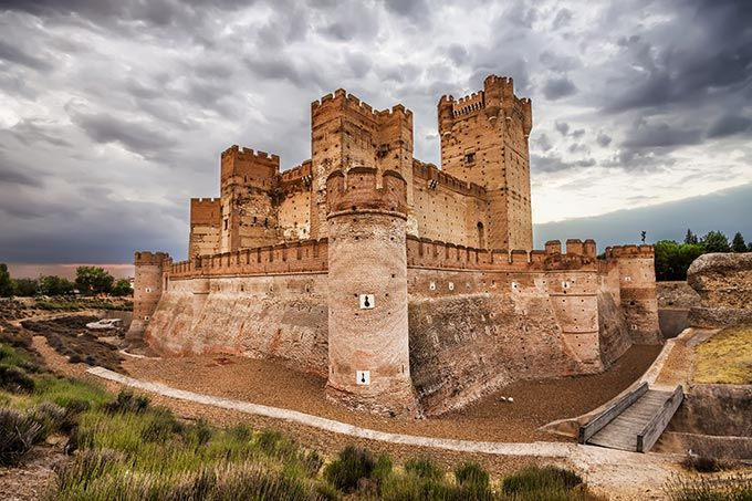 Some of the most beautiful castles in Spain - Castillo de la Mota, Valladolid, Castilla y León