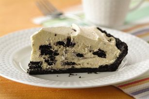 OREO Cream Pie recipe. Making this tonight :)