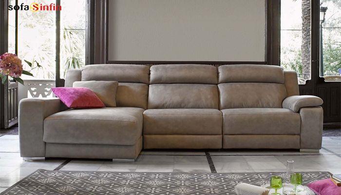 SOFASSINFIN #decoración Sofá chaiselongue modelo Blus de Acomodel. Visitenos en http://sofassinfin.es/chaise-longue-y-rinconeras.html