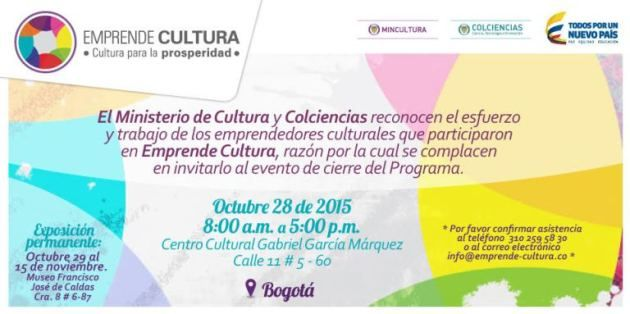 Emprende Cultura #CulturaPorlaPaz