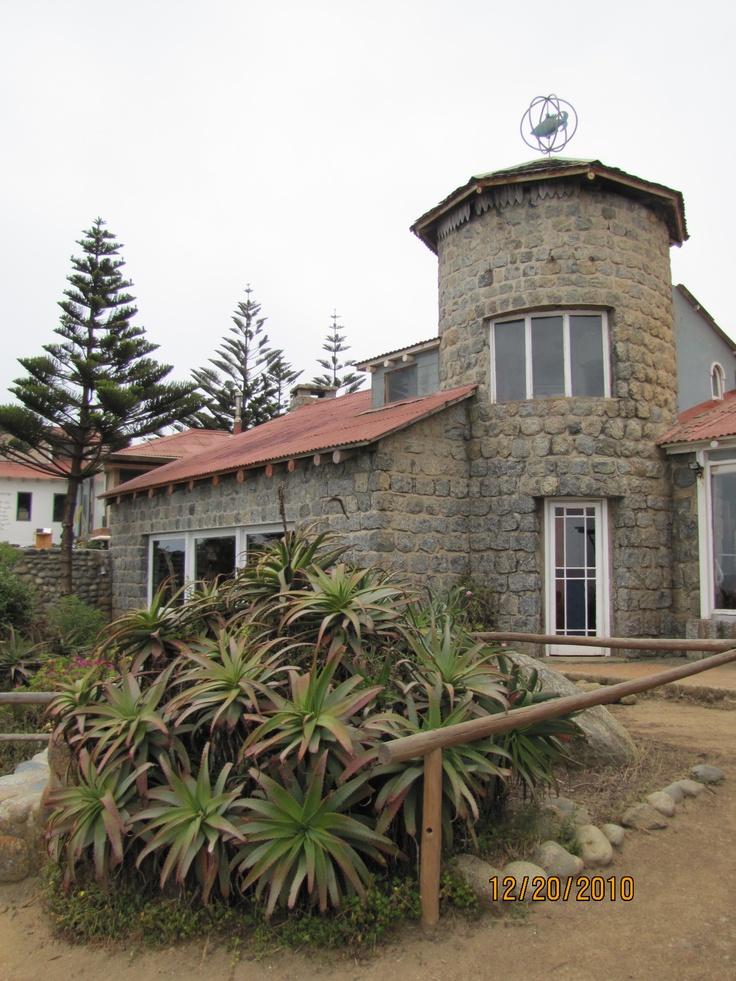 Casa de Pablo Neruda, Isla Negra, Chile