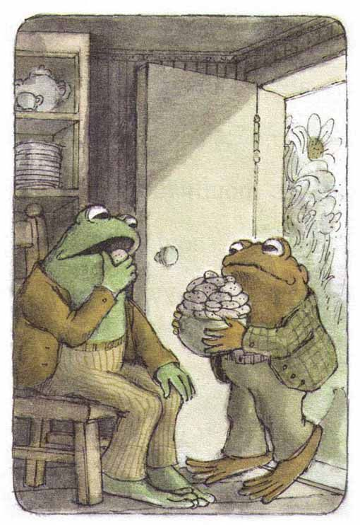 Frog and Toad - Reminds me of kids reading in second grade…