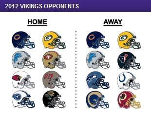 vikings schedule