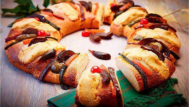 Rosca de reyes rellena de frutas Que Tal Virtual | Revista Sociales San Luis Potosí, S.L.P. #rosca #receta #reyes