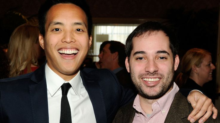 Parks and Recreation colleagues Aziz Ansari and Alan Yang bonded over their experiences as Asian-Americans living very different lives from their parents. Their new series is streaming on Netflix.