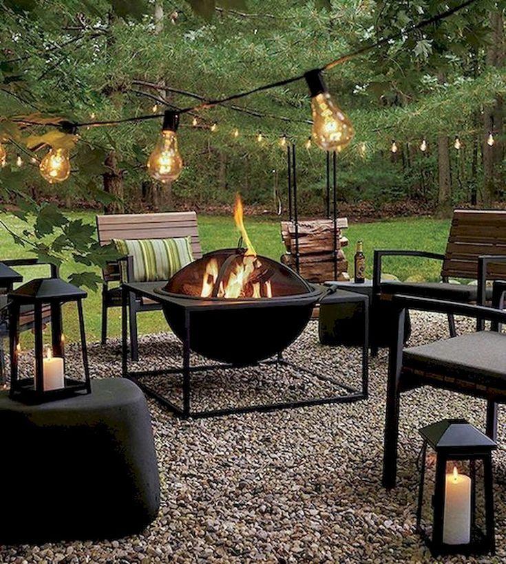 70 Cozy Backyard and Garden Seating Ideas for Summer – #Backyard #cozy #Garden #…