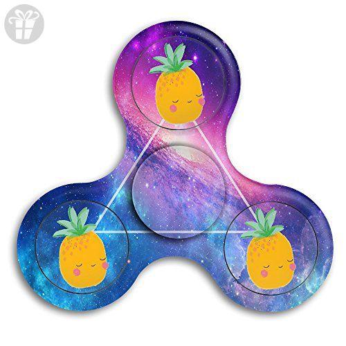 Happy Pineapple Fidget Spinner Toys Hand Spinner Tri-fidget Spinners Stress Reducer - Fidget spinner (*Amazon Partner-Link)
