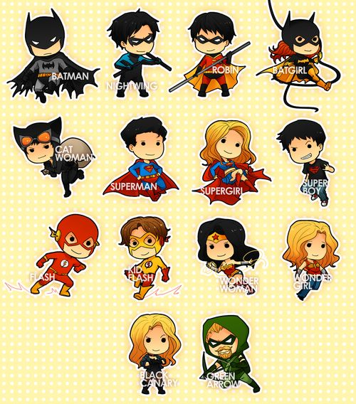 CHIBIS: DCU by shiftly