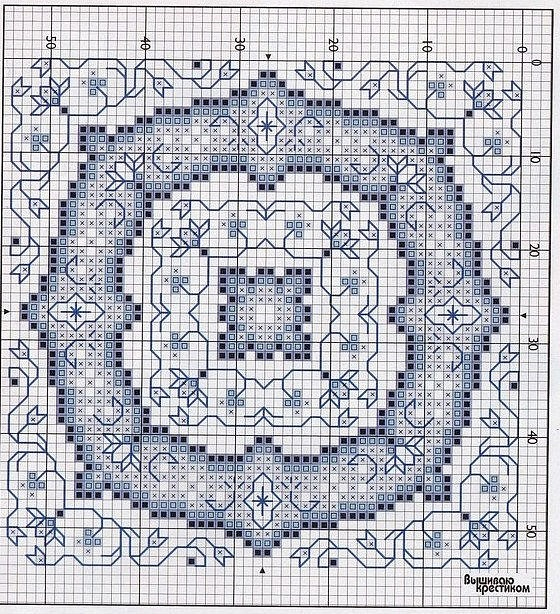 square cross stitch pattern