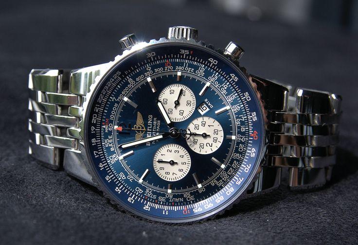 breitling blue navitimer | breitling chronometre navitimer instructions for setting