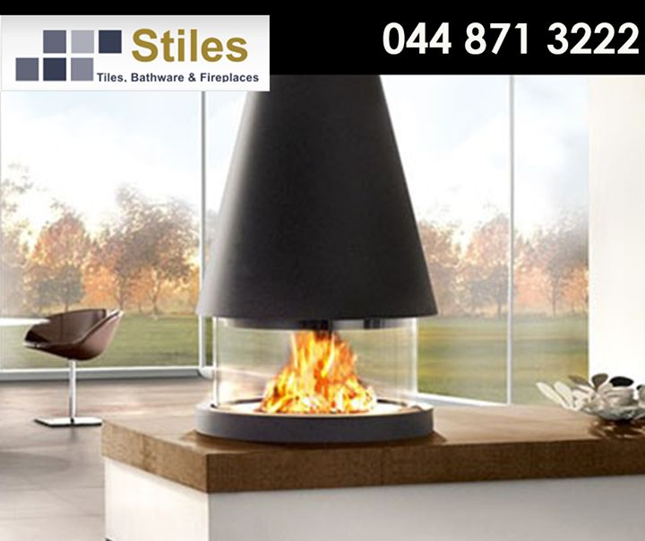 The M360 T Panoramic #FireBox perfectly combines technology and innovative materials to give you striking practicality and a 360 degree view of the #fire. For more information, call #StilesGeorge on 044 871 3222. #Heating