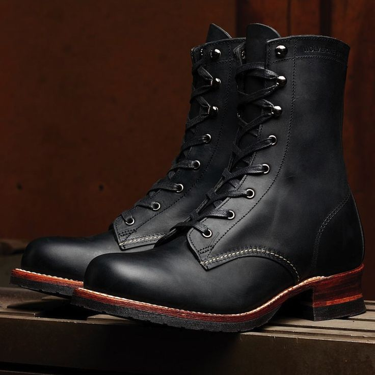 Austen 1000 Mile Lacer Boots by Wolverine they have Goodyear tire soles. Perfect for a motorcycle ride.