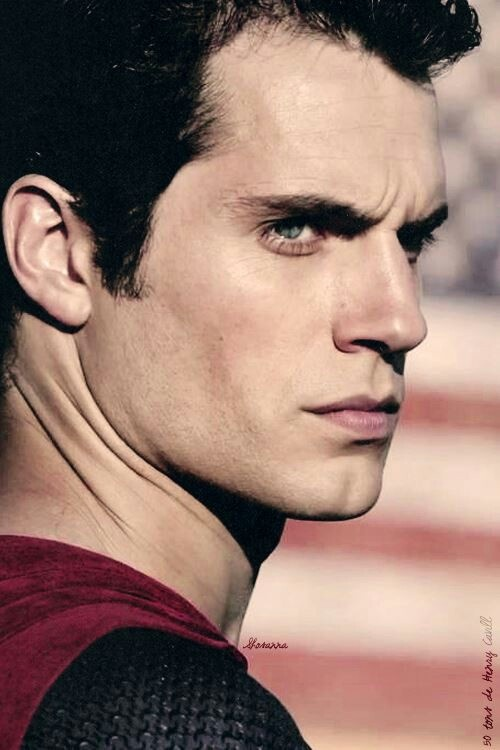 The Superman glare