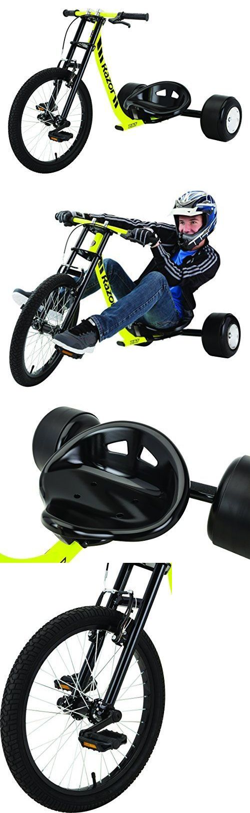 Complete Go-Karts and Frames 64656: Razor Dxt Drift Trike New Tricycle Kids Big Wheel Stunt -> BUY IT NOW ONLY: $131.55 on eBay!