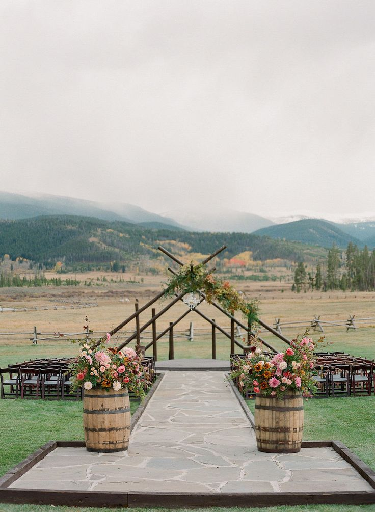 Rustic Meets Glam at This Devil's Thumb Ranch Wedding