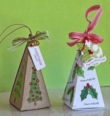 DIY Christmas Treat Box