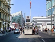 Checkpoint Charlie, Berlin, Germany - Octopussy
