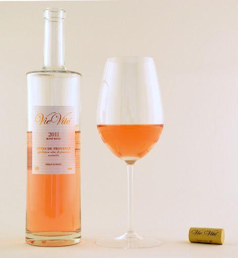 2011 Vie Vite Rose via www.clubw.com @clubw #clubw #wine