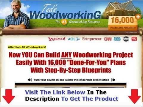 """Teds woodworking review """"DO NOT buy Till you see this!!"""" http://tinyurl.com/Tedswoodworkingrev...  With over 16,000 DIY woodworking plans and projects included in Teds Woodworking, it almost sounds too good to be true. Is this really just a Teds Woodworking scam, or can you trust that a book like this will actually deliver on its promises? Here's what I can tell you about Teds Woodworking."""