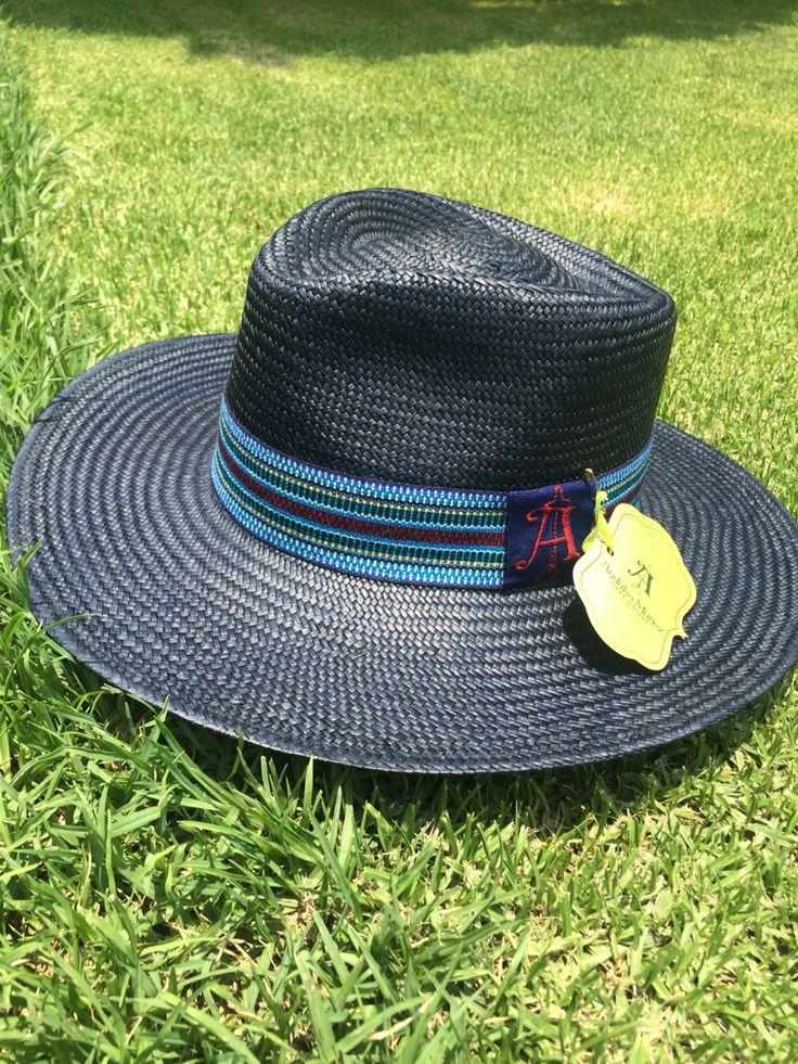 Sombrero fina de paja toquilla Anduka Muñoz