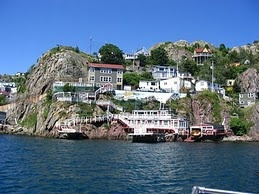 The Battery at the eastern end of St. John's harbour (Newfoundland)