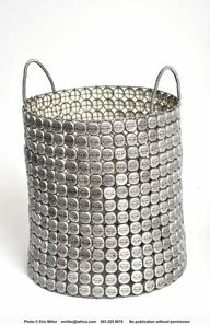 bottle cap craft..hmmm Im thinking gargae can