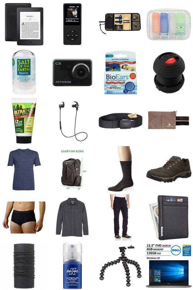 """""""Round the World Trip Packing List (RTW Trip)"""" by clauslautercpt"""