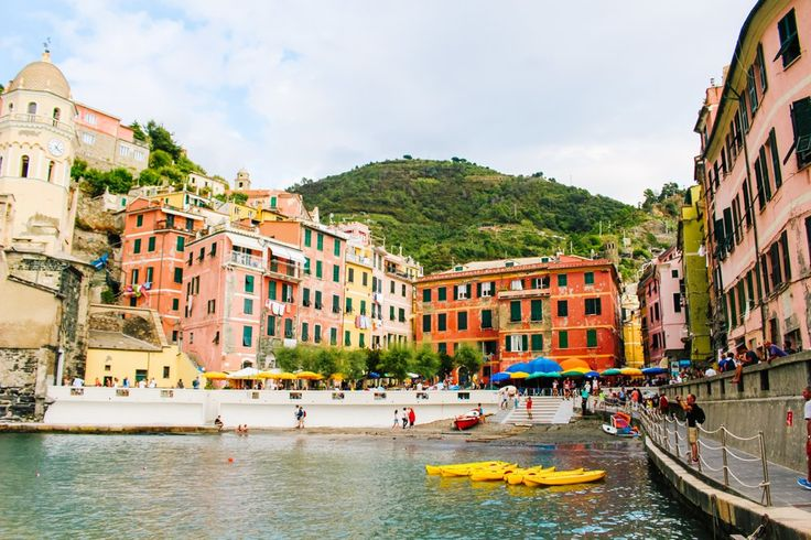 Fishing boats in Cinque Terre // Vernazza Italy // What to do in Cinque Terre // Travel to Cinque Terre // Get lost in Italy // The road less traveled // Off the beaten path in Italy // DeejandBlamers // Traveling Boston Hat