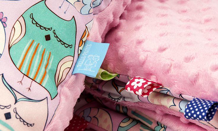 bellepetite#kocyk# Kolekcja Śpiące Sówki