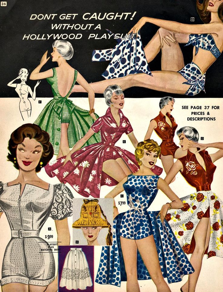 Fredericks of Hollywood 1960s - as a 1960s house wife I would never be caught without it!?!?