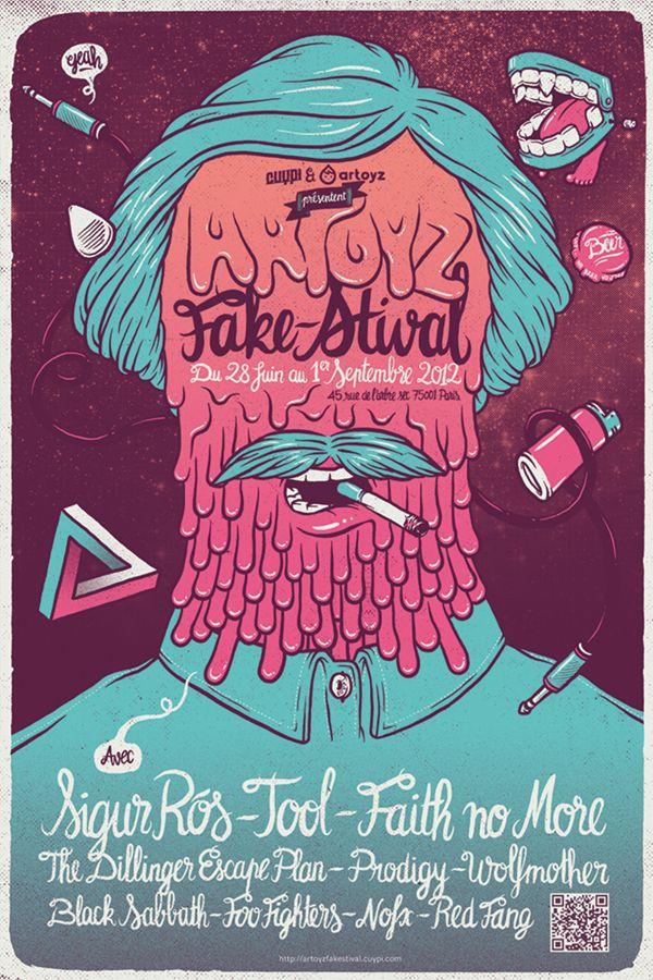 Artoyz Fake'stival | Illustrator: sebastien CUYPERS
