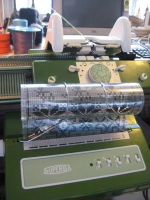 Superba S Double Bed Knitting Machine
