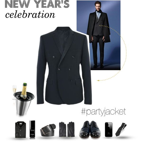 """""""Party jacket 'cause it's time to party! - New year's celebration"""" by tonello-collections on Polyvore"""