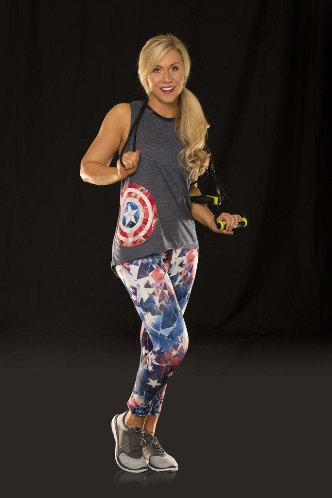 d0aa99f0f3 You ll Flip Over the Hottest New Workout Gear Just For Marvel Fangirls