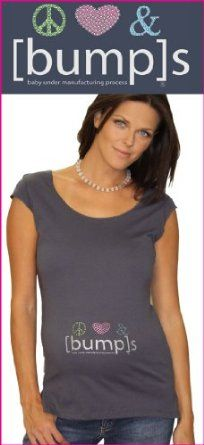 peace love & [bump]s maternity tee, L/XL (8-14) [bump]. $60.00