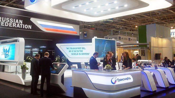 Modern Exhibition Stand Up : Throwback s mixed modern elements lines and colors
