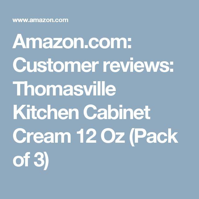 Amazon.com: Customer Reviews: Thomasville Kitchen Cabinet Cream 12 Oz (Pack  Of
