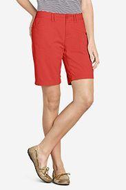 """Women's Curvy Stretch Legend Wash Shorts - 10"""""""