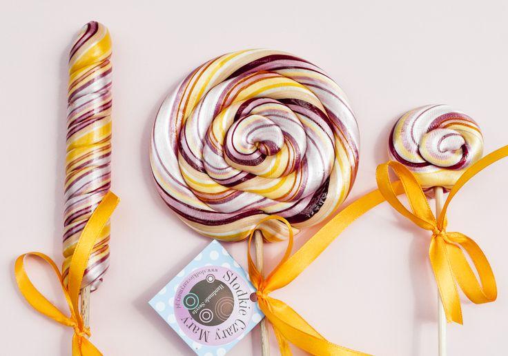 manufaktura lizaków z karmelu - ręcznie robione (handmade) #handmade #lollipops #delicious #candy